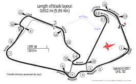 Silverstone Arena Grand Prix Circuit